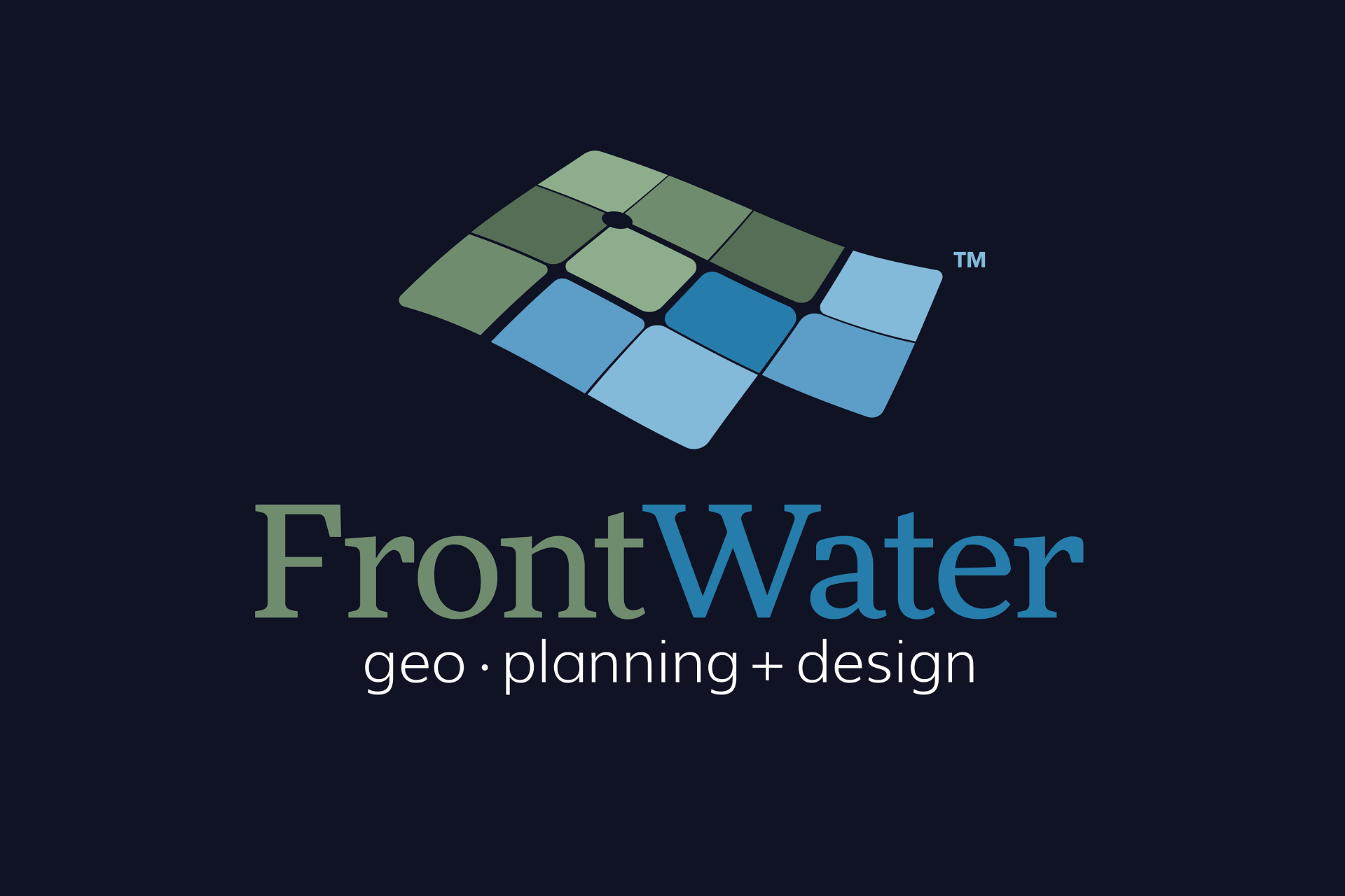 FrontWater logo